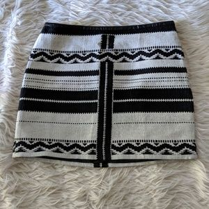 Madewell Navajo Buck White Skirt